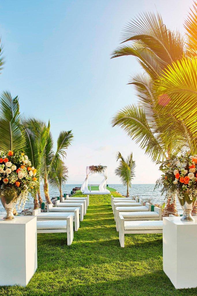 Marriott Puerto Vallarta Resort & Spa - Outdoor Wedding Venue <br/>Image from Leonardo