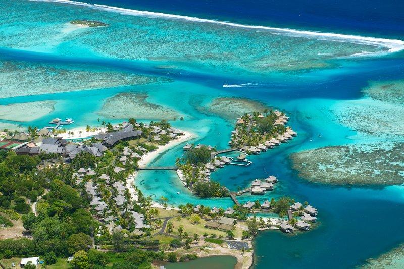 Sofitel Moorea Ia Ora Beach Resort-Aerial view of the Resort<br/>Image from Leonardo