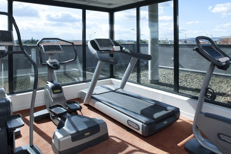 Holiday Inn Toulouse Airport-You can run, watching airplanes in our fitness center<br/>Image from Leonardo