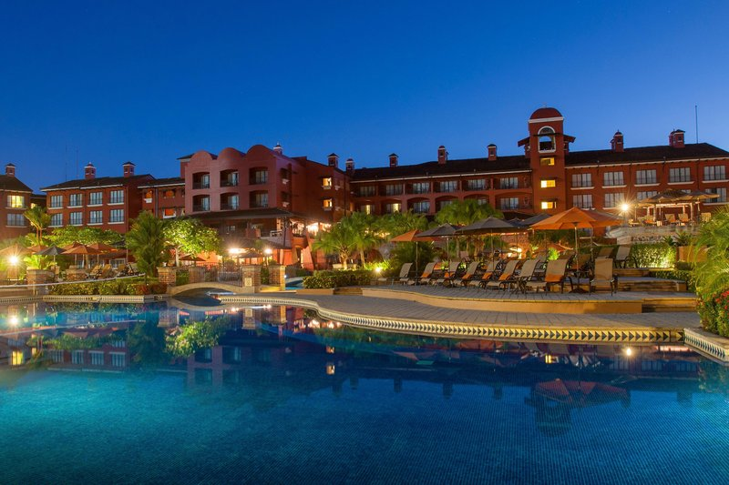 Marriott Los Suenos Ocean & Golf Resort-Exterior at Night<br/>Image from Leonardo