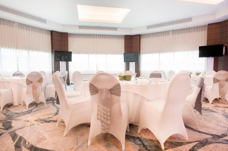Marriott Los Suenos Ocean & Golf Resort-Carara Ballroom – Reception Setup<br/>Image from Leonardo