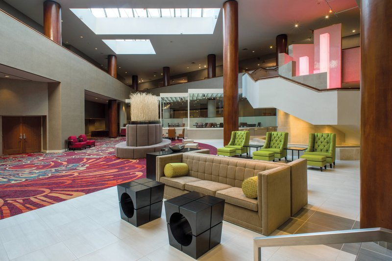 Crowne Plaza Tulsa - Southern Hills-Lobby Seating Area<br/>Image from Leonardo