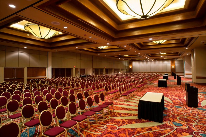 Crowne Plaza Tulsa - Southern Hills-Meeting Room – Theater Setup<br/>Image from Leonardo