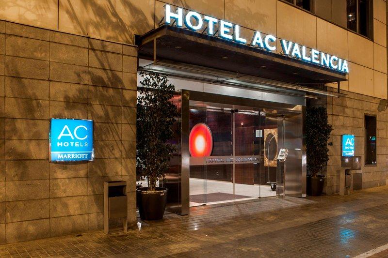 AC Hotel Valencia-Entrance<br/>Image from Leonardo