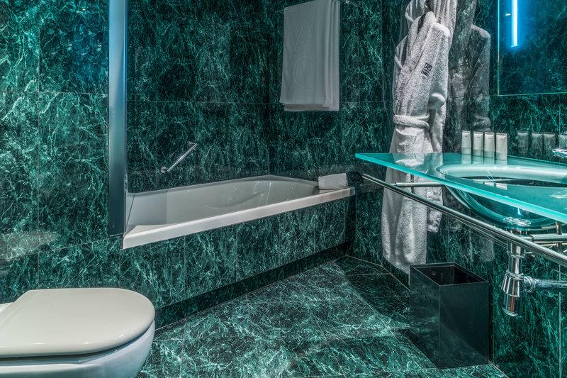 AC Hotel Valencia-Guest Bathroom<br/>Image from Leonardo