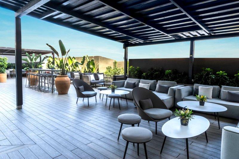AC Hotel Valencia-AC Lounge Outdoor Terrace - Dining Area<br/>Image from Leonardo