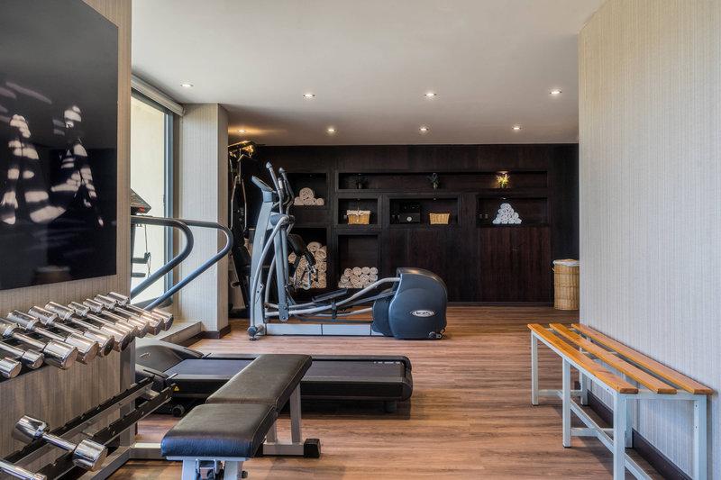 AC Hotel Valencia-Fitness Room<br/>Image from Leonardo