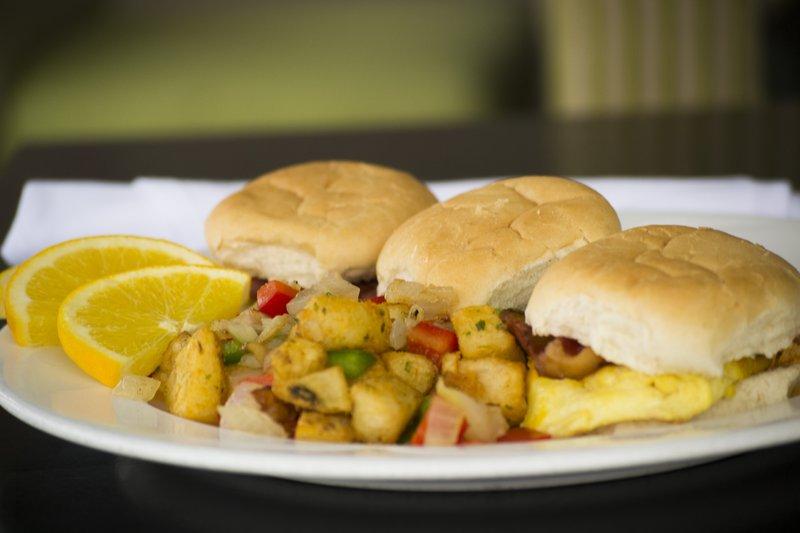 Holiday Inn Sudbury-Breakfast Sliders - a guest favourite!<br/>Image from Leonardo