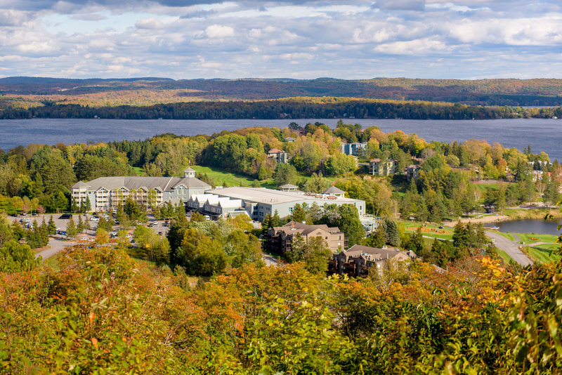 Deerhurst Resort-Fall at Deerhurst Resort<br/>Image from Leonardo