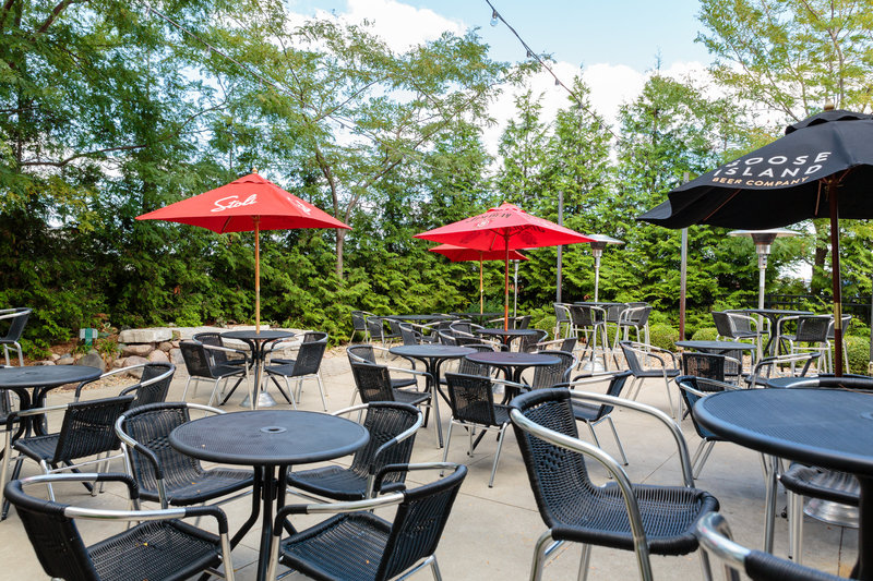Holiday Inn Hotel & Suites Bloomington - Airport-Patio seating available at Baxters American Grille<br/>Image from Leonardo