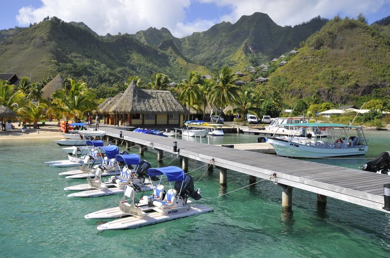Intercontinental Moorea Resort-Recreational Facility<br/>Image from Leonardo