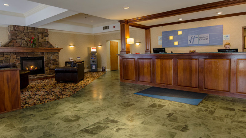 Holiday Inn Express South Burlington-Hotel Lobby<br/>Image from Leonardo