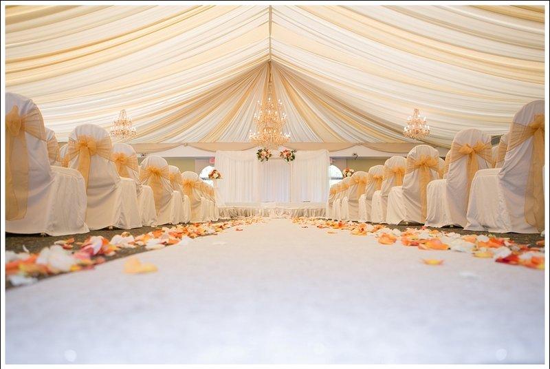 Crowne Plaza Philadelphia-Cherry Hill-Riverside Pavilion Wedding Ceremony<br/>Image from Leonardo