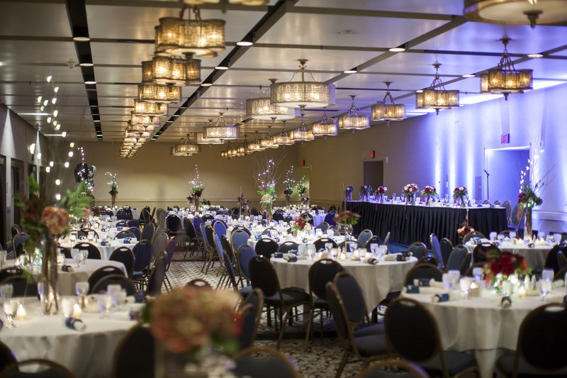 Crowne Plaza Minneapolis West-Wedding Reception in the Scandinavian Ballroom<br/>Image from Leonardo