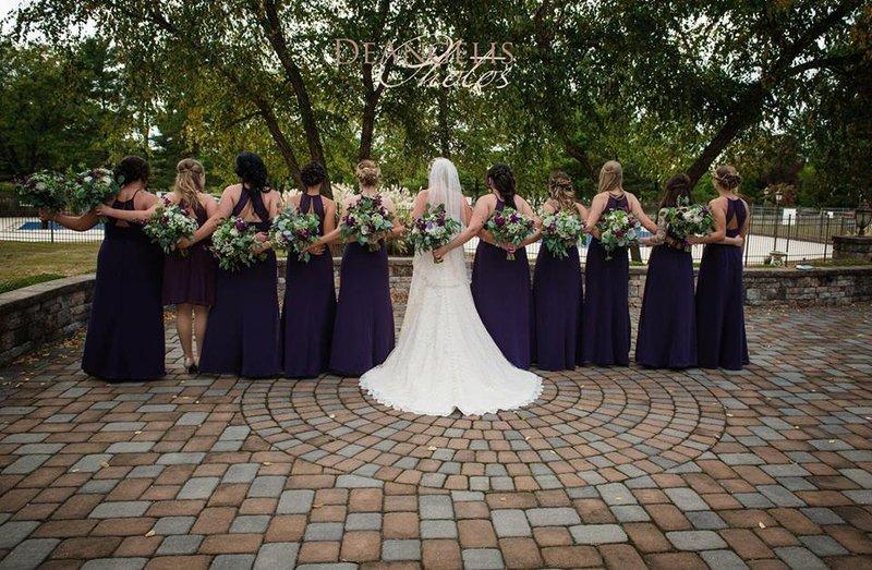 Crowne Plaza Philadelphia-Cherry Hill-Outdoor Veranda - Wedding Party<br/>Image from Leonardo