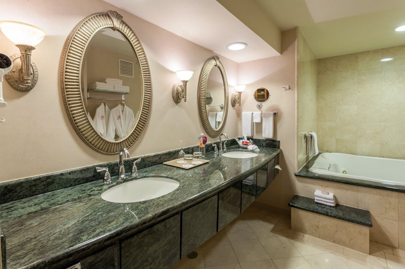 Crowne Plaza Torreon-Stunning Guest Bathroom<br/>Image from Leonardo