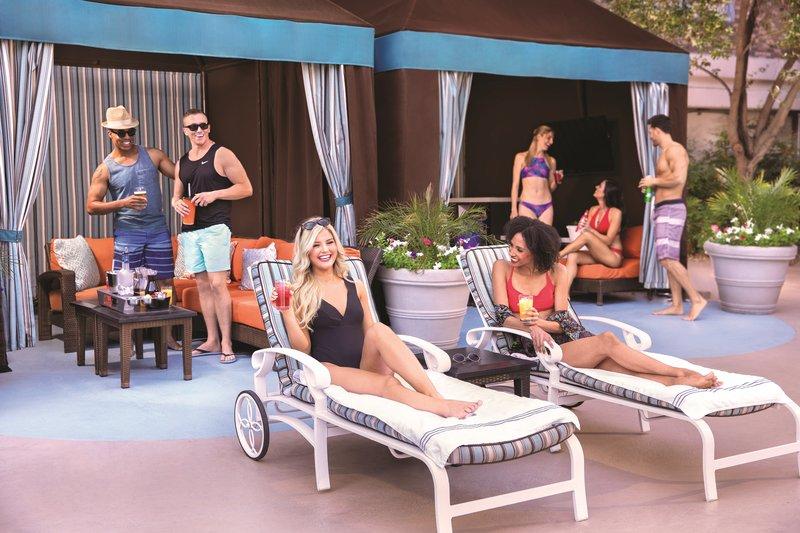 New York-New York Hotel - Pool Cabana <br/>Image from Leonardo