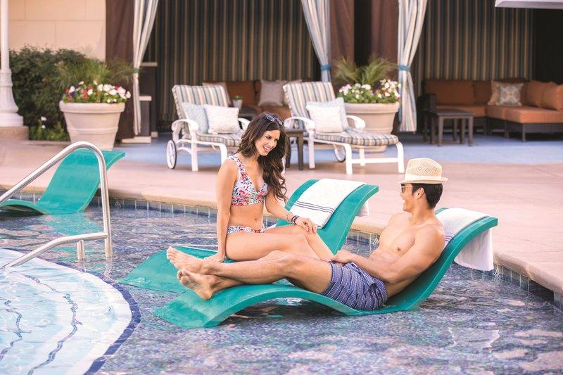 New York-New York Hotel - Pool Lounge Chairs <br/>Image from Leonardo