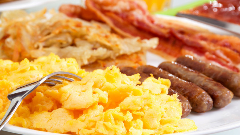 Holiday Inn Express Wilmington-Our breakfast buffet features eggs, bacon , fruit, & more.<br/>Image from Leonardo