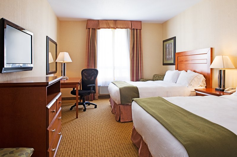 Holiday Inn Express & Suites Grande Prairie-Queen Bed Guest Room<br/>Image from Leonardo