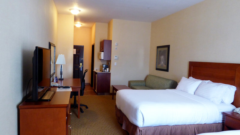 Holiday Inn Express & Suites Grande Prairie-Two Queen Bed With Pullout Sofa Bed<br/>Image from Leonardo