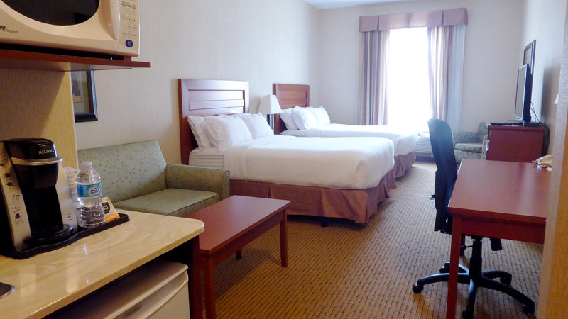 Holiday Inn Express & Suites Grande Prairie-Two Queen Beds With Pull Out Sofa<br/>Image from Leonardo