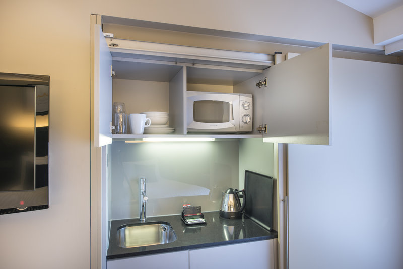The Nadler Liverpool-Mini Kitchen<br/>Image from Leonardo