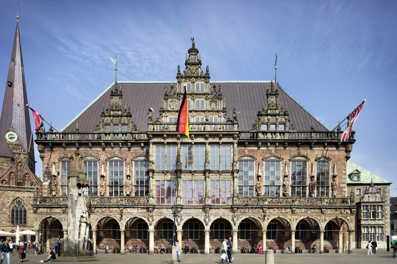 Holiday Inn Express Bremen Airport-Bremen's ornate town hall, not far from the hotel.<br/>Image from Leonardo