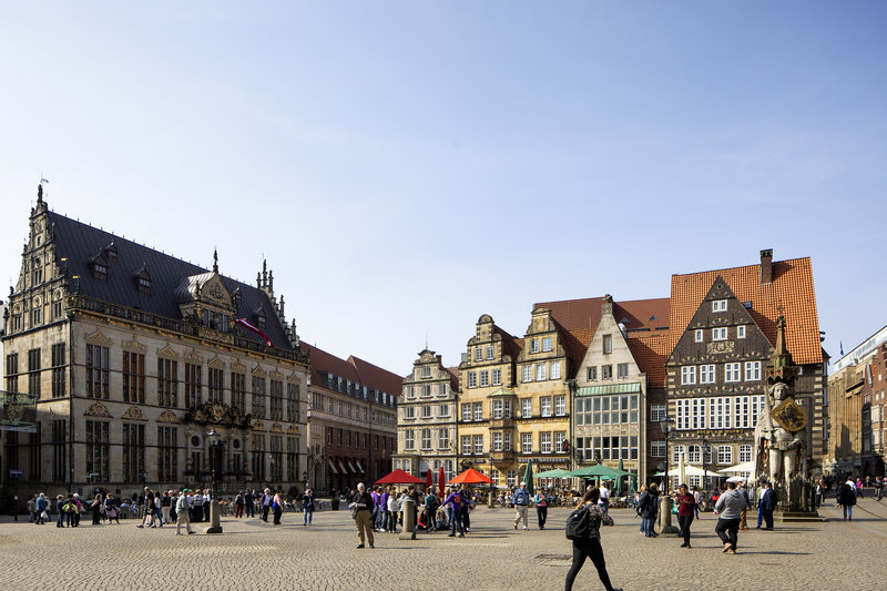 Holiday Inn Express Bremen Airport-Historic buildings in Bremen's old town, a short tram ride away.<br/>Image from Leonardo