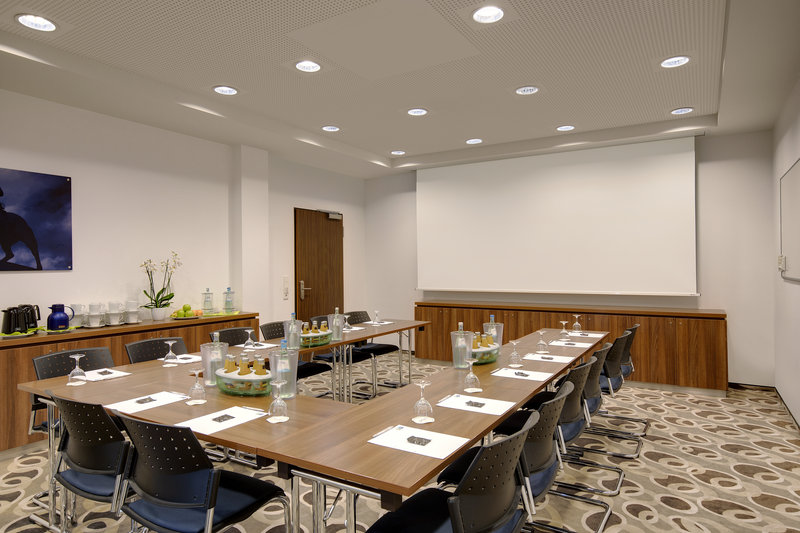 Holiday Inn Express Bremen Airport-A Holiday Inn Express board room set up for a meeting.<br/>Image from Leonardo