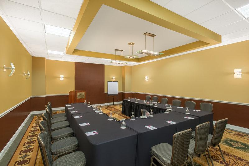 Crowne Plaza Philadelphia-Cherry Hill-Meeting Room-U Shape Set Up<br/>Image from Leonardo