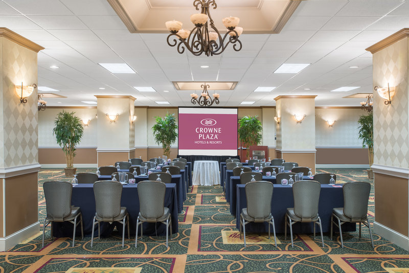 Crowne Plaza Philadelphia-Cherry Hill-Terrace Room-Classroom style set up<br/>Image from Leonardo
