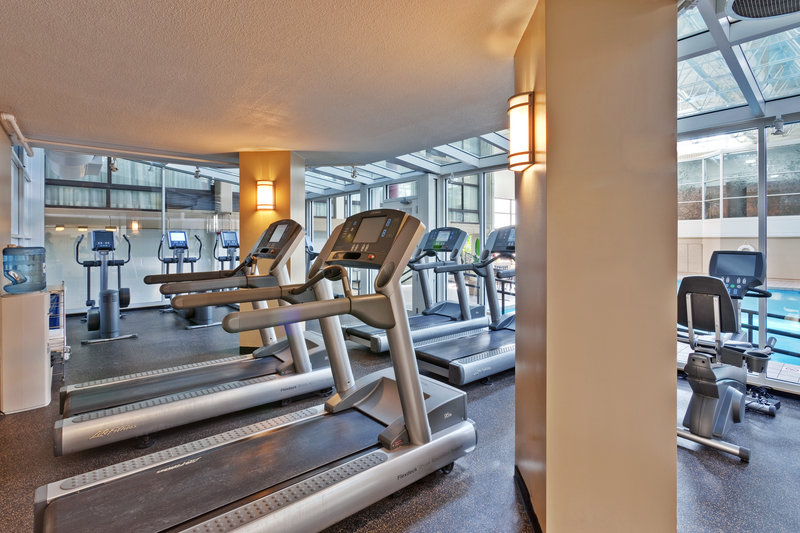 Crowne Plaza Chicago Ohare Hotel & Conference Center-Fitness Center<br/>Image from Leonardo