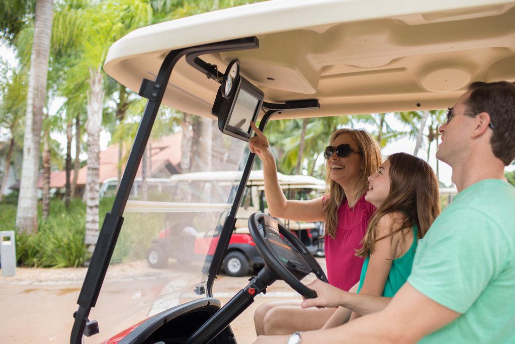 Casa De Campo - Golf Cart <br/>Image from Leonardo