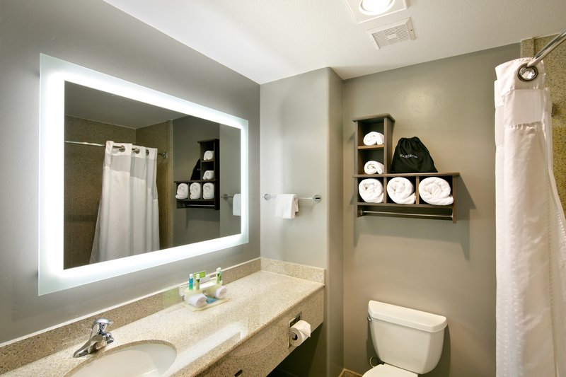 Holiday Inn Express and Suites-Guest Bathroom<br/>Image from Leonardo