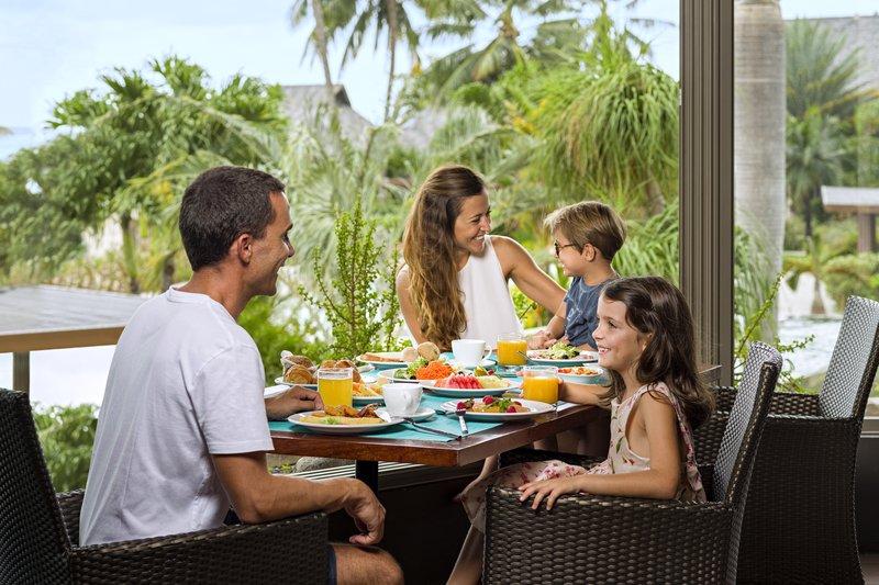 Intercontinental Moorea Resort-Breakfast at the Fare Nui restaurant<br/>Image from Leonardo