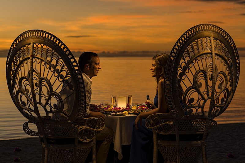Intercontinental Moorea Resort-Romantic Dinner on the beach<br/>Image from Leonardo