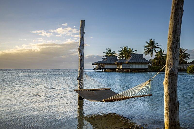 Intercontinental Moorea Resort-Enjoy the sunset in our overwater Hammock<br/>Image from Leonardo