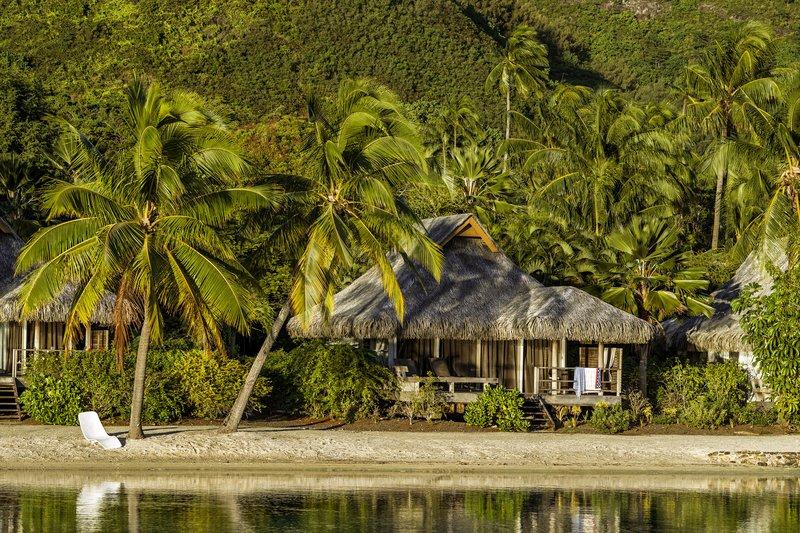 Intercontinental Moorea Resort-View of a Junior Suite Beach Bungalow<br/>Image from Leonardo