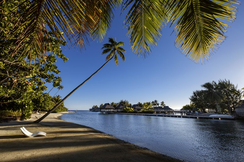 Intercontinental Moorea Resort-Private Beach inside resort grounds<br/>Image from Leonardo