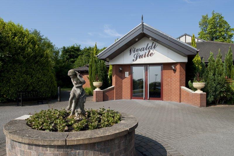 Holiday Inn A55 Chester West-Vivaldi Suite Entrance <br/>Image from Leonardo