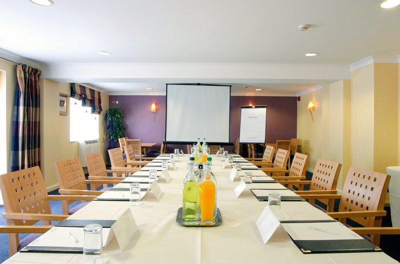 Holiday Inn A55 Chester West-Clwyd Room set for boardroom meeting.<br/>Image from Leonardo