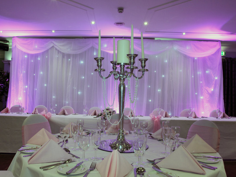 Holiday Inn A55 Chester West-Wedding Reception in Vivaldi Suite<br/>Image from Leonardo