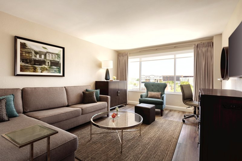 Hotel Ballast Wilmington, Tapestry Collection by Hilton-Double Junior Suite Living Room Sofa<br/>Image from Leonardo