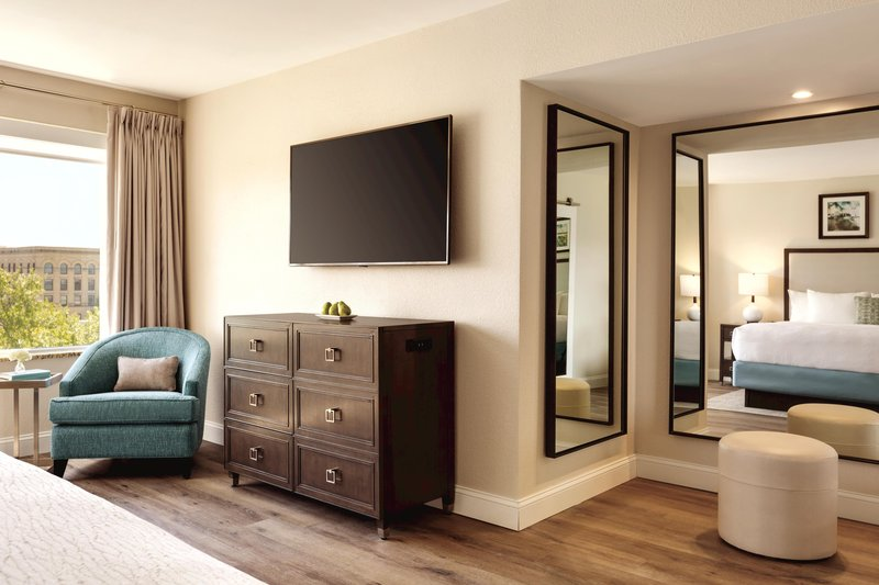 Hotel Ballast Wilmington, Tapestry Collection by Hilton-King Suite Corner View<br/>Image from Leonardo