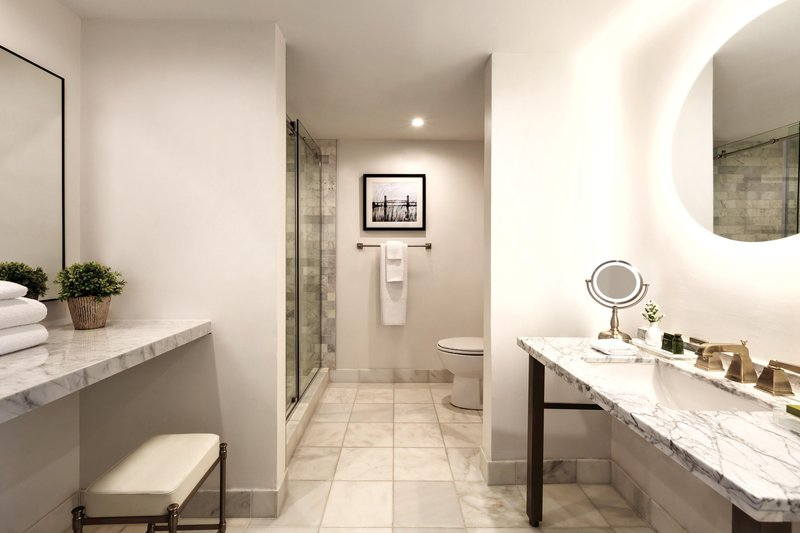 Hotel Ballast Wilmington, Tapestry Collection by Hilton-King Suite Corner Bathroom<br/>Image from Leonardo