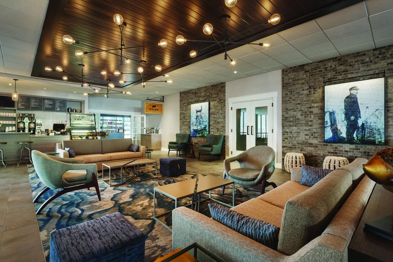 Hotel Ballast Wilmington, Tapestry Collection by Hilton-Lobby<br/>Image from Leonardo
