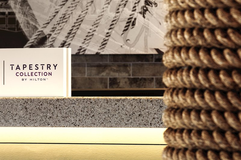 Hotel Ballast Wilmington, Tapestry Collection by Hilton-Lobby Detail<br/>Image from Leonardo