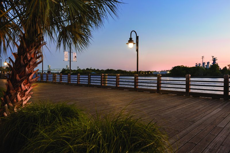 Hotel Ballast Wilmington, Tapestry Collection by Hilton-Riverwalk at Night<br/>Image from Leonardo