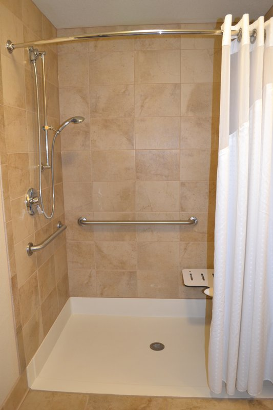 Holiday Inn Eau Claire South I-94-Accessible Guest Bathroom<br/>Image from Leonardo
